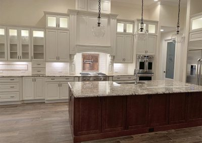DM Dean custom designed home with customized kitchens