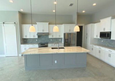 Luxury home with island kitchen and spacious floor plan