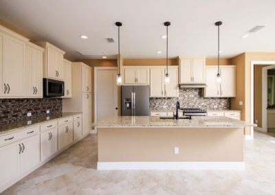 DM Dean Custom Home, Large modern kitchen with ample countertop space