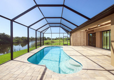 DM Dean Custom Home with Indoor/Outdoor living with lap pool